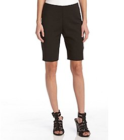 Karen Kane® Side Slit Shorts