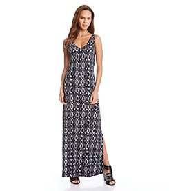 Karen Kane® Diamond Ikat Maxi Dress