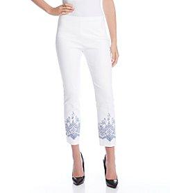 Karen Kane® Lace Print Pants