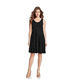 Karen Kane® Tiered Lace Dress
