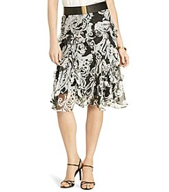 Lauren Ralph Lauren® Petites' Animal-Print Ruffled Skirt