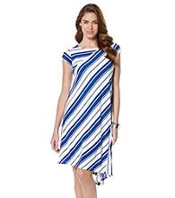Rafaella® Easy Breezy Stripe Dress