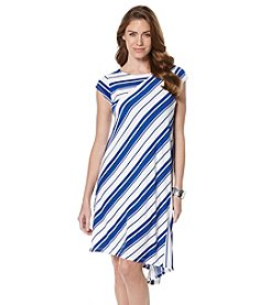 Rafaella® Easy Breezy Stripe Dress