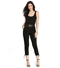 Lauren Jeans Co.® Drawstring-Cuff Jumpsuit