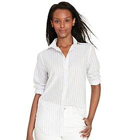 Lauren Jeans Co.® Striped Cotton Shirt