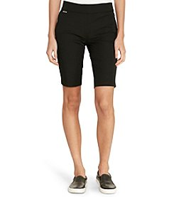 Lauren Jeans Co.® Color-Blocked Shorts