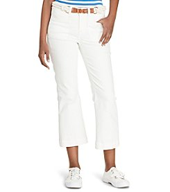 Lauren Jeans Co.® Cropped Straight-Leg Jeans