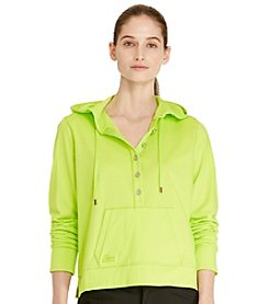 Lauren Active® Cotton Jersey Hoodie