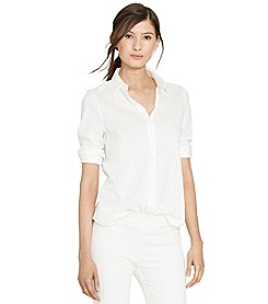 Lauren Ralph Lauren® Pique-Knit Cotton Shirt
