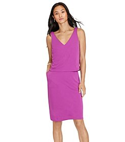 Lauren Ralph Lauren® Layered Jersey V-Back Dress