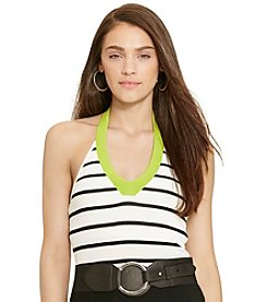 Lauren Ralph Lauren® Striped Halter Top