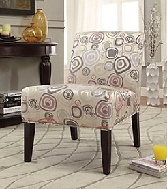 Acme Aberly Square Abstract Accent Chair