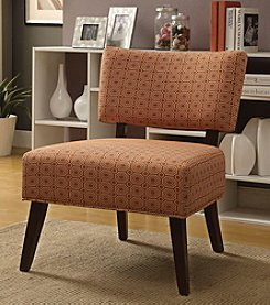 Acme Able Orange Accent Chair