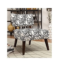 Acme Able Floral Accent Chair