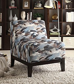Acme Hinte Paintbrush Accent Chair