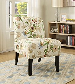 Acme Ollano Floral Accent Chair