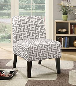 Acme Ollano Gray Maze Accent Chair