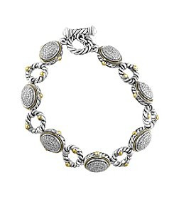 Effy® 925 Collection 1.16 Ct. T.W. Diamond Tennis Bracelet In Sterling Silver