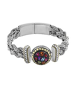 Effy® 925 Collection Multi Gem Bracelet In Sterling Silver