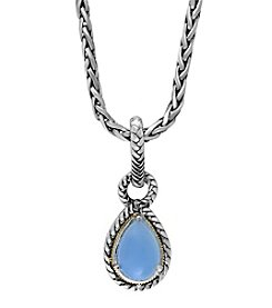 Effy® 925 Collection Chalcedony Quartz Pendant In Sterling Silver