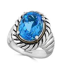 Effy® 925 Collection Blue Topaz Ring In Sterling Silver