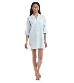 Miss Elaine® Button Down Sleepshirt