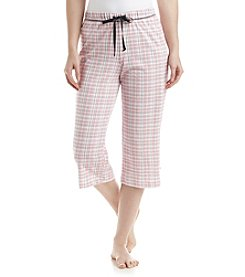 KN Karen Neuburger Printed Pajama Capris