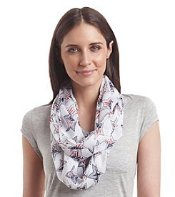 Cejon® Star Bright Patches Infinity Scarf