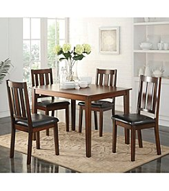 Acme Flihvine 5-pc. Dining Set
