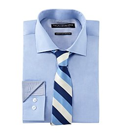 Nick Graham® Men's Chambray Shirt And Tie Set