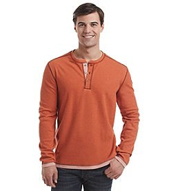 Paradise Collection® Men's Long Sleeve Solid Henley