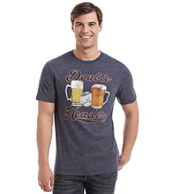 Paradise Collection® Men's Double Header Short Sleeve Graphic Tee