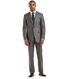 Billy London® Men's Gray Textured Suit Separates