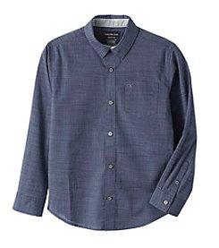 Calvin Klein Jeans® Boys' 8-20 Long Sleeve Atmosphere Shirt