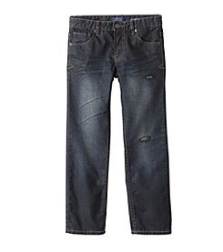 Lucky Brand® Boys' 4-20 Ripped Iceman Billy Straight Jeans