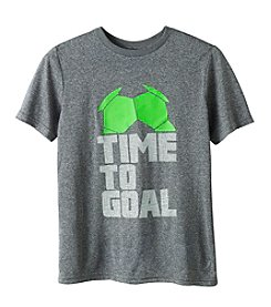 Exertek® Boys' 8-20 Short Sleeve Time To Goal Tee