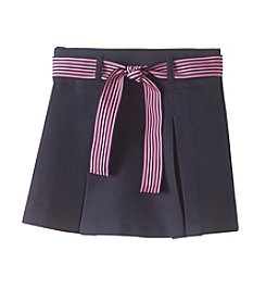 Nautica® Girls' 4-6X Pleated Ribbon Scooter Skirt