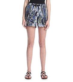 Kensie® Marble Swirl Shorts
