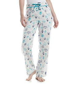 Relativity® Printed Flannel Pajama Pants