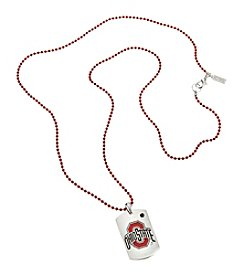 accessory PLAYS™ NCAA Ohio State University Dog Tag Necklace