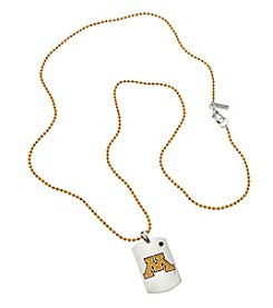accessory PLAYS™ NCAA University Of Minnesota Dog Tag Necklace