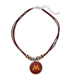 accessory PLAYS™ NCAA University Of Minnesota Multi Row Cord Pendant
