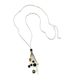 accessory PLAYS™ NCAA University Of Iowa Tassel And Football Necklace