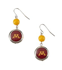 accessory PLAYS™ NCAA University Of Minnesota Disc Drop Earrings