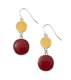 accessory PLAYS™ NCAA® University Of Minnesota Two Disc Drop Earrings