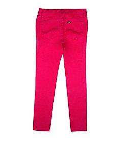 Lee® Girls' 7-16 Hyperstretch Twill Skinny Jeans