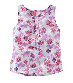 OshKosh B'Gosh® Girls' 4-6X Floral Tank