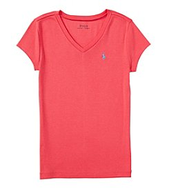 Polo Ralph Lauren® Girls' 7-16 Short Sleeve Modal Tee