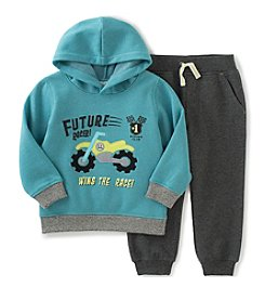 Kids Headquarters® Baby Boys 2-Piece Future Racer Hoodie And Joggers Set