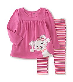 Kids Headquarters® Baby Girls' 2-Piece Poodle Tunic And Leggings Set